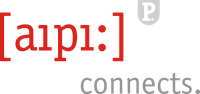 Logo aipi: connects.